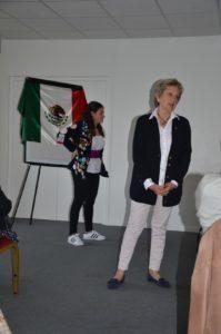 Colette Duboscq présidente et responsable jeunesse du club