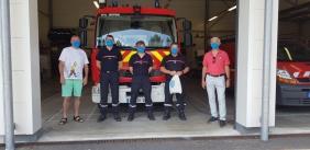 Caserne des pompiers de Soustons